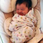 Nicki at One Month